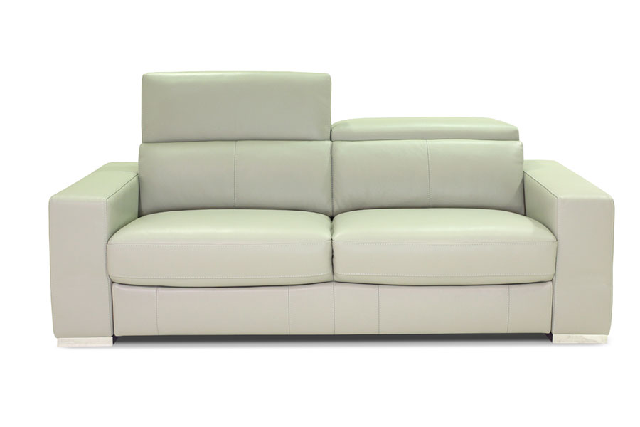 Leren Bankstel Wit.Lederland Leather Couch Amparo